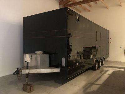 Completely Custom J&M Snowmobile trailer Toy Hauler made