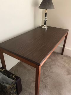 Wood desk or craft table