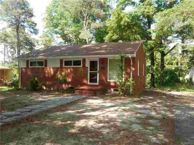 2111 Fort Rice Street Petersburg Three BR, Brick ranch with newly