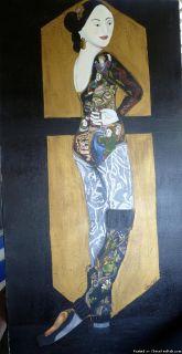 GEISHA BALLERINA BY ELIZABETH ANFIELD