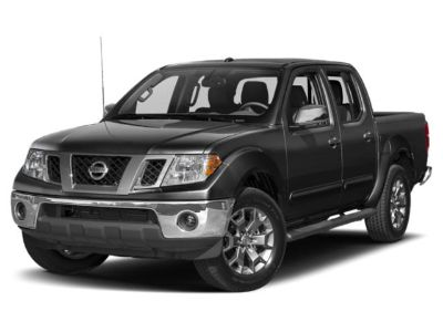 2019 Nissan Frontier PRO-4X 4WD (Qak/Glacier White)