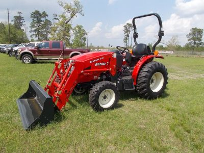 2017 3015H Branson 4wd Tractor w/ 16ft trailer and 5ft box blade