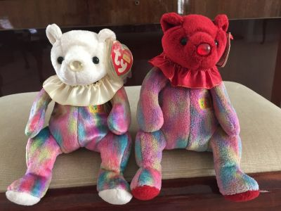 June and July Ty Birthday Bears