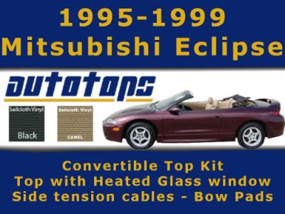 Find Eclipse Convertible Top with Heated Window Kit | Side Cables and Bow Pads motorcycle in Shamokin, Pennsylvania, United States, for US $332.00