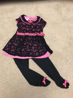4T Young Hearts Outfit
