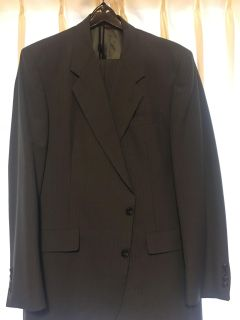 Men s 2 piece suit from Dillard s. Excellent condition. Size is 44 L. Like new