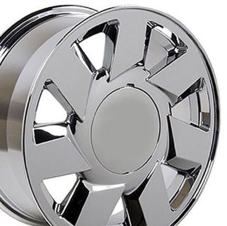 "Purchase 17"" Rims Fit Cadillac - DTS Wheels - Chrome 17x7.5 SET W1x motorcycle in Sarasota, Florida, United States, for US $549.00"