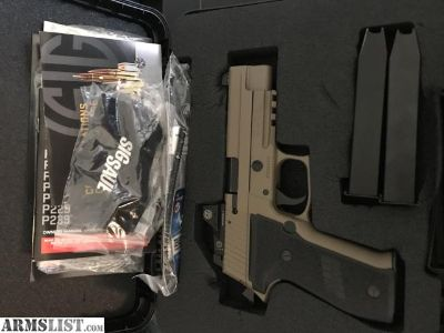For Sale: Sig p226 Rx with optic