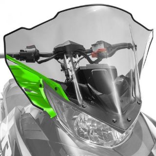 Buy Arctic Cat Mid Windshield Clear Tinted w/Green 2017 ZR XF 9000 - 7639-381 motorcycle in Sauk Centre, Minnesota, United States, for US $112.99