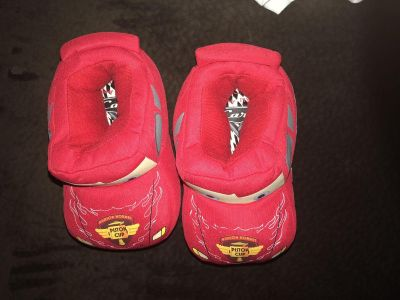 Cars slippers 9-10 size