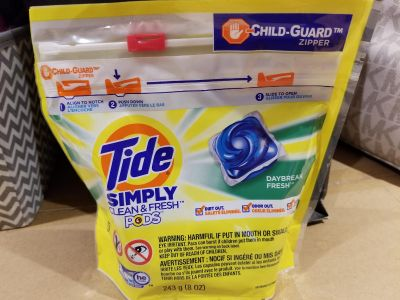 Tide simply clean and fresh pods