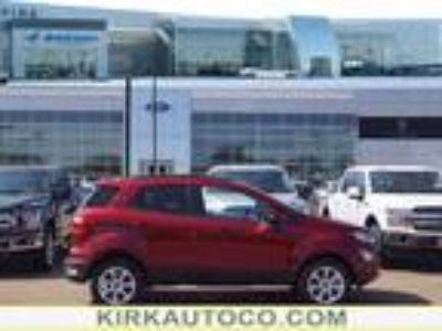 2018 Ford EcoSport, new