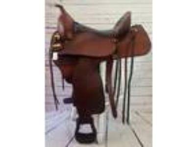 1000LBK Hereford Tex Flex Western Saddle
