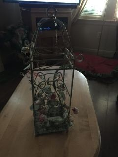 Vintage looking candle holder many other uses