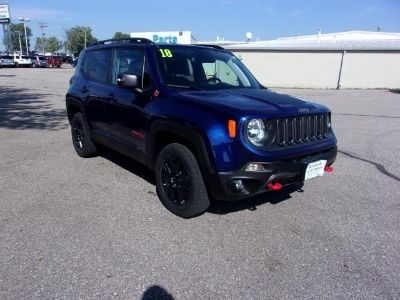 2018 Jeep Renegade TRAILHAWK 4X4 (Jetset Blue)