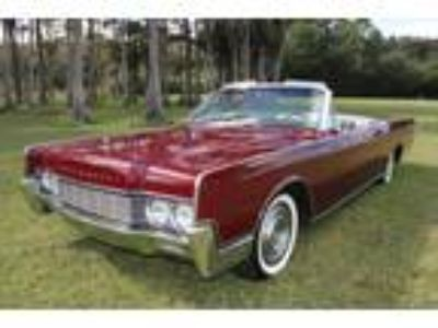 1967 Lincoln Continental Convertible Royal Maroon
