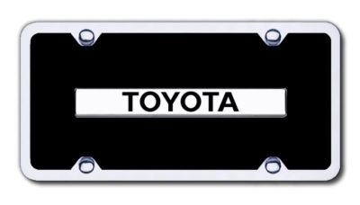 Purchase Toyota Chrome/Black Acrylic Kit Made in USA Genuine motorcycle in San Tan Valley, Arizona, US, for US $22.85