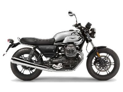 2018 Moto Guzzi V7 III Carbon Shine Standard/Naked Motorcycles Goshen, NY