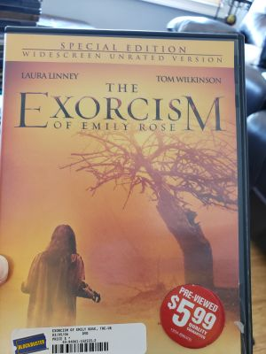 The exorcism of Emily rose DVD