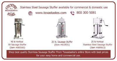 Best Stainless steel sausage stuffer -  USA