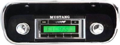 Purchase 1967-1968 Mustang radio AM/FM USA-230 IPOD XM MP3 200 Watt Aux Input motorcycle in Fullerton, California, United States, for US $159.00