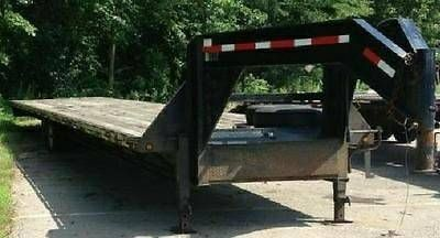 45 ft flatbed gooseneck