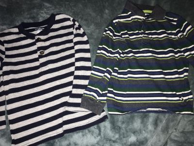 Two Nice Long Sleeved Shirts 5T
