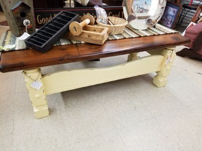 Wood Coffee Table or Bench