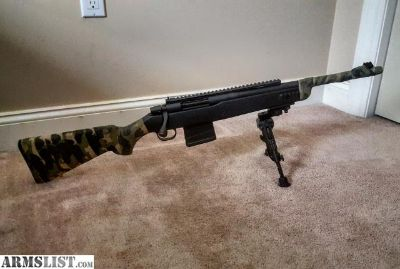 For Trade: Mossberg MVP Scout Tactical .308/1000+rnds