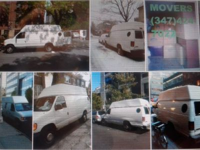Mover with Van! Small & Medium move .Moving - room, studio apt moving -low rate .347-424-7022