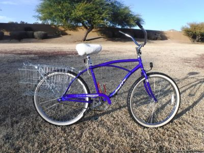 "Christopher Metcalfe Creations Huffy Mission Bay Comfort Bike 26"" Men's Classic Cruiser"