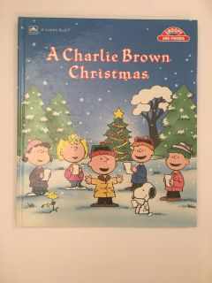 1988 A Charlie Brown Christmas Hardcover Like New except inscription inside front cover.