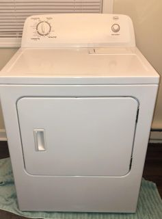 Whirlpool Roper 6.5-cu ft Electric Dryer (White)