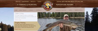 A FISHING AND HUNTING ADVENTURE RESORT