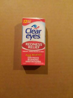 Clear eyes drops - new