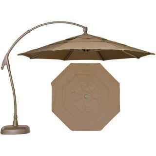 10' octagonal cantilever patio umbrella