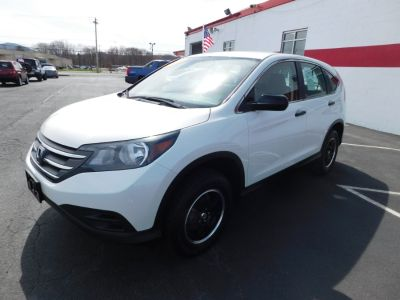 2013 Honda CR-V LX (White Diamond Pearl)