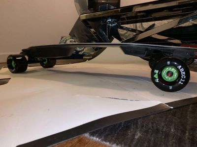 Boosted board stealth with 107 flywheels