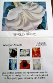 Georgia O`Keefee Reproductions. New