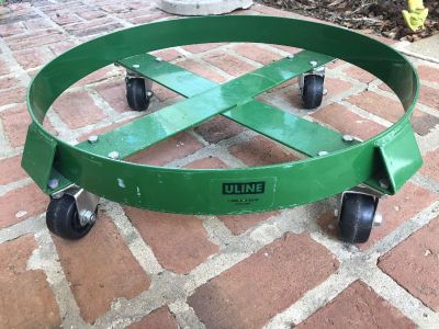 ULINE 55 Gallon Steel Drum Dolly (#6 available)