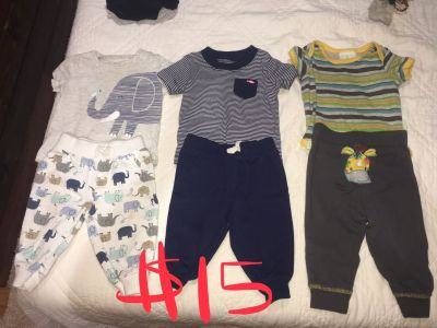 3-6 outfits