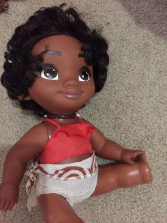 Moana baby doll