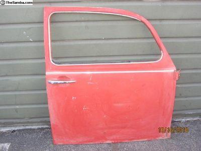 passenger side bug door #73