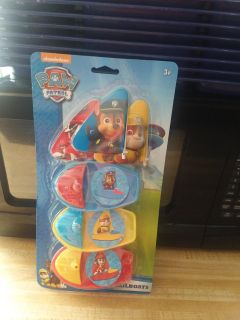 Paw Patrol Sailboats for water play
