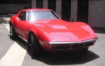 1972 Ford Mustang GT Deluxe (Red)