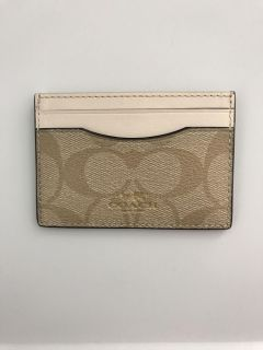 Coach card holder! New, never used!