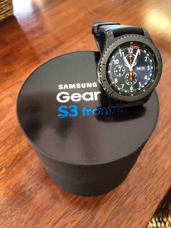 Samsung Gear S3 Frontier watch (Men s)