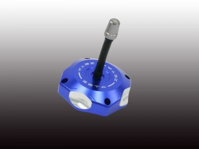Sell ZETA BLUE Billet Aluminum Gas Fuel Cap KLX110 KLX450R KFX450R KFX KLX ZE87-1501 motorcycle in Sugar Grove, Pennsylvania, United States, for US $72.95