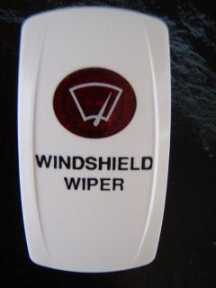 Find CONTURA SWITCH WINDSHIELD WIPER RED LENS V WHITE motorcycle in Osprey, Florida, US, for US $16.95