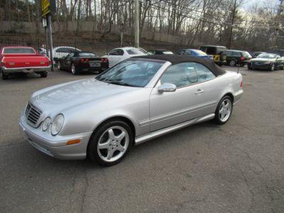 2003 Mercedes-Benz CLK-Class CLK430 (Brilliant Silver Metallic)